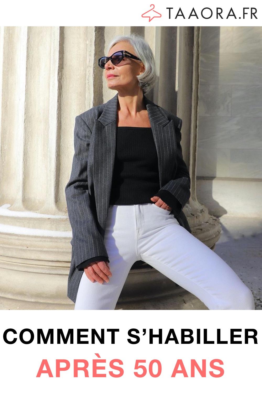 Comment s'habiller après 50 ans ?