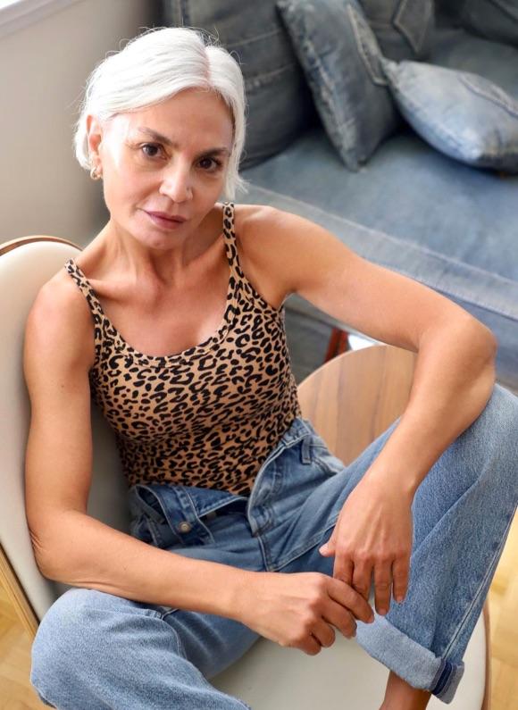 Look tendance femme de 50 ans