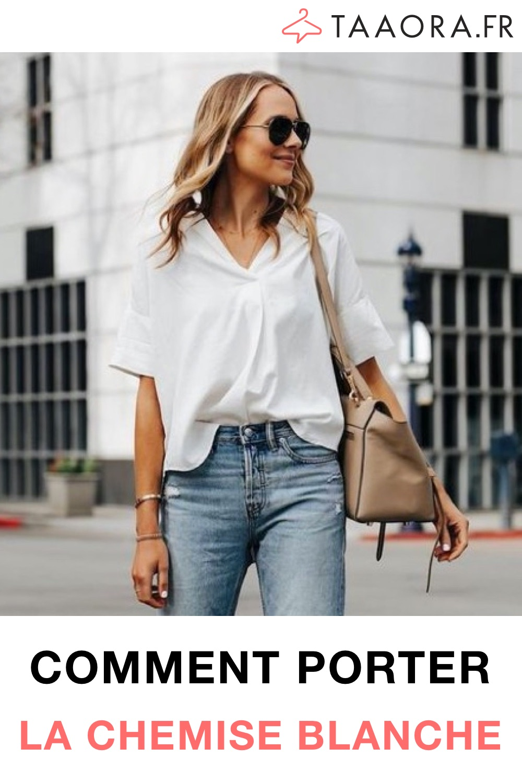 Avec quoi porter chemise blanche ?