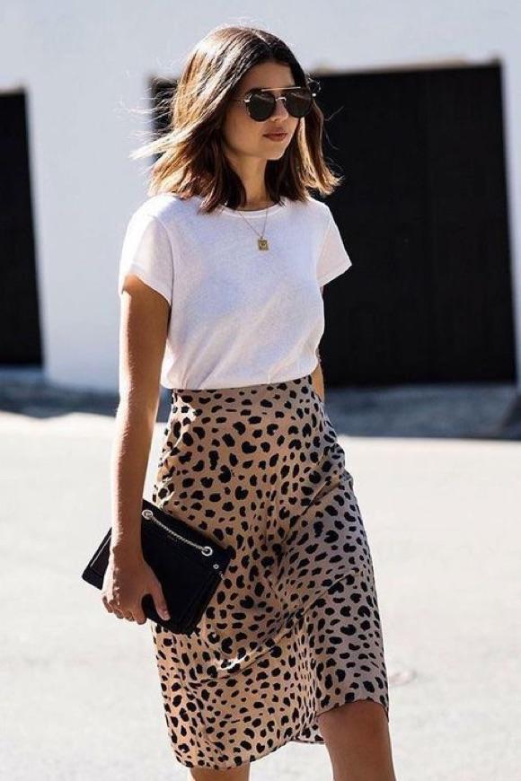 Avec quoi porter jupe léopard ?