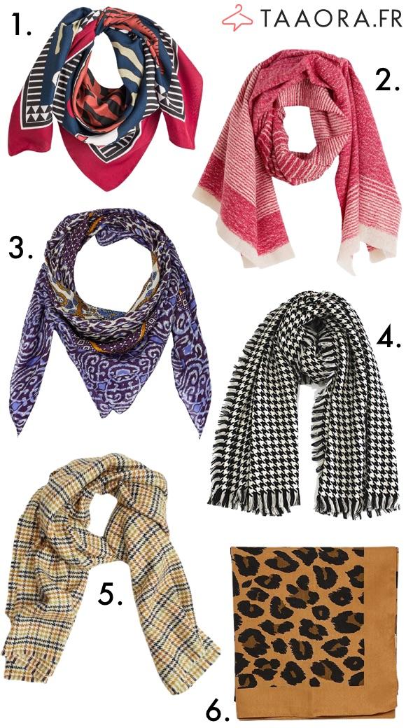 Écharpe foulard automne/hiver