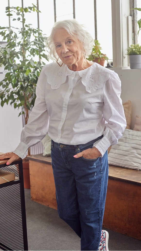 Comment s'habiller à 80 ans ?