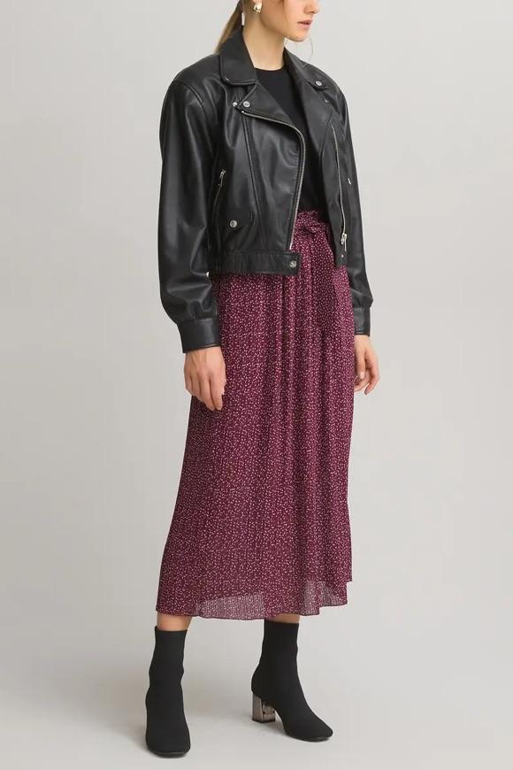 Look femme automne jupe