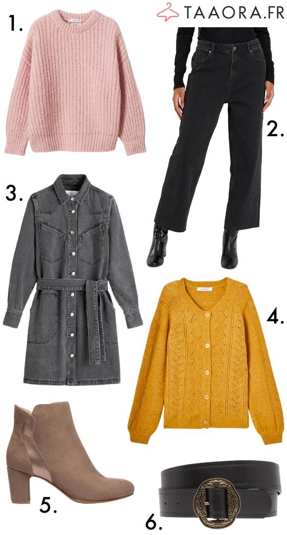 Mode automne/hiver femme