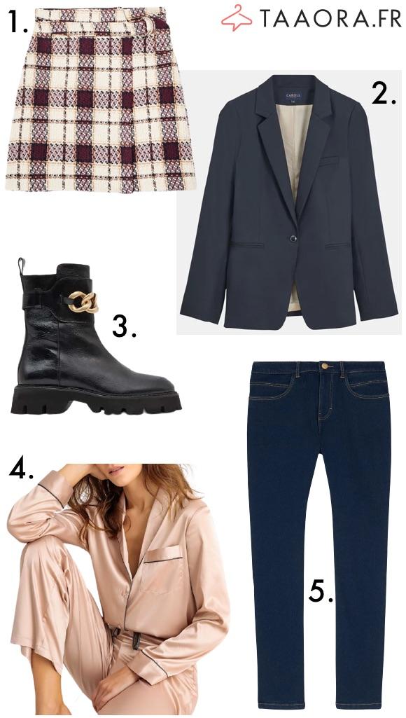 Mode femme automne hiver
